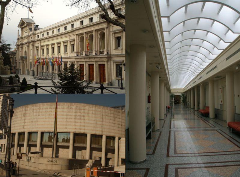 Palacio del Senado Semana de la Arquitectura 2019 en Madrid