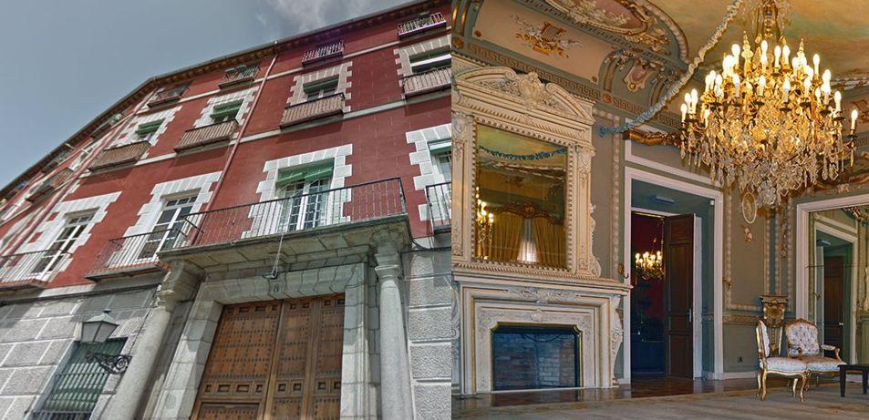 Real Academia de Ingeniería Palacio de Villafranca Madrid