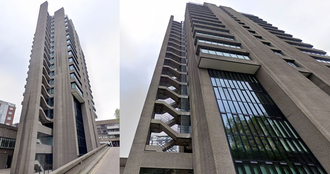Brutalismo de Londres Blake Tower Cher Lloyd
