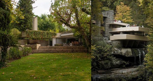Casa de la Cascada Lloyd Wright