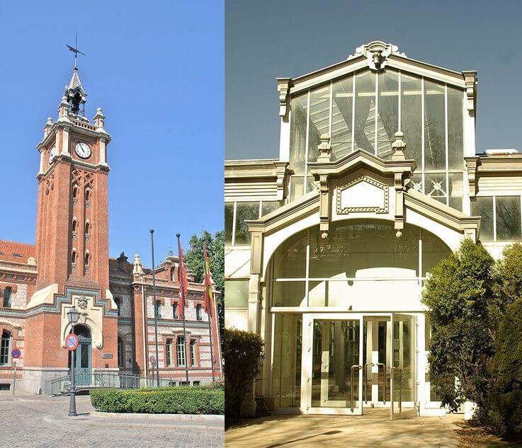 Casa del Reloj y Palacio de Cristal Arganzuela Matadero Madrid