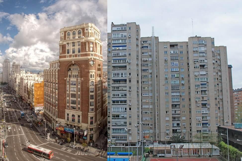 Edificios Asociación Prensa Madrid siglo XX
