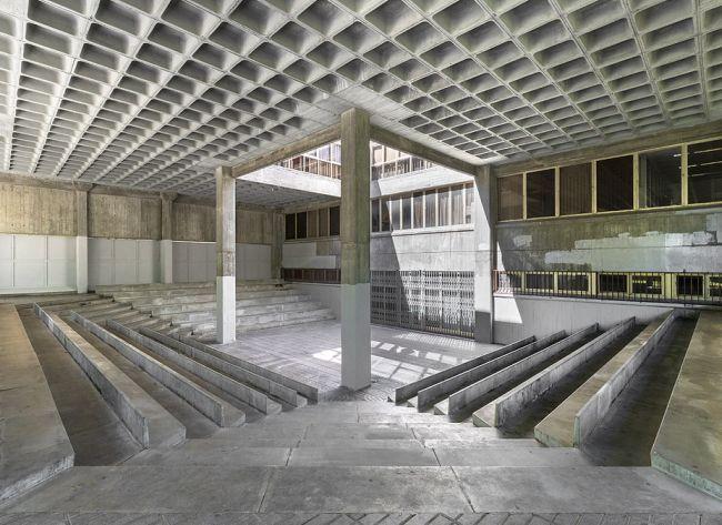 Edificios brutalistas de Madrid
