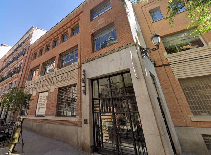 Imprenta Municipal Madrid Art Decó Zigzag Moderne