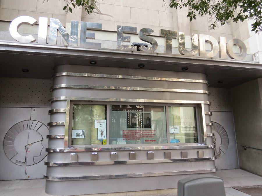 Madrid Art Decó Cine Estudio del Círculo de Bellas Artes