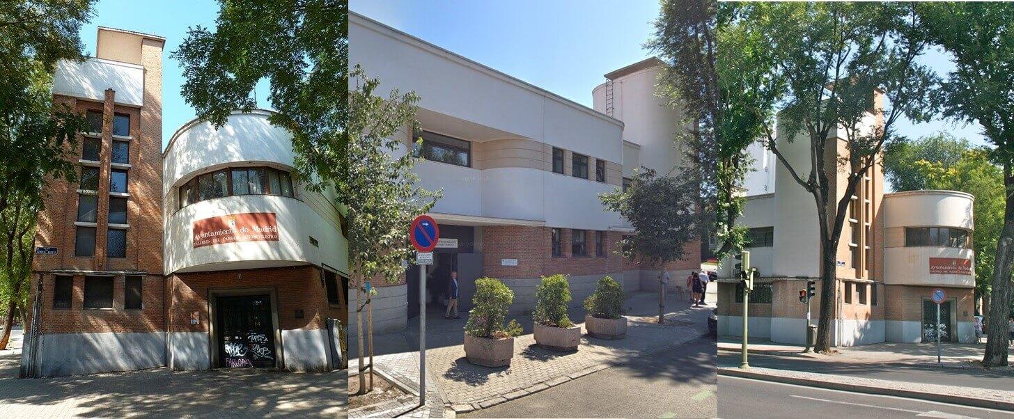 Madrid Art Decó Edificio Parque Sur Racionalismo república
