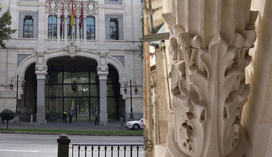 Modernismo Madrid detalles Art Nouveu Palacio Cibeles