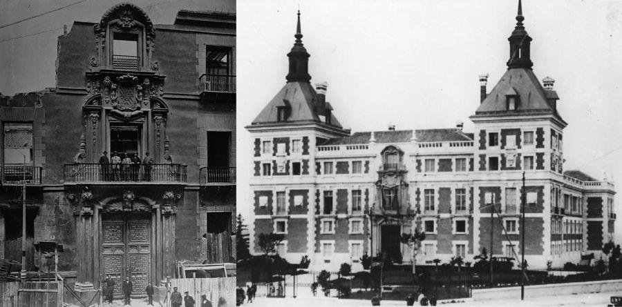 Palacio Oñate en Casa Velázquez de Madrid