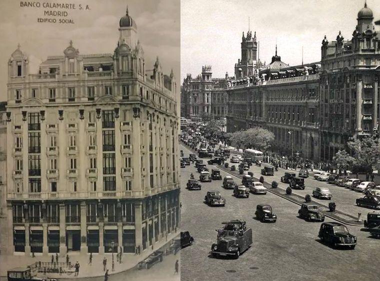 Palacio de Lorite o Banca Calamarte, parte del Madrid desaparecido