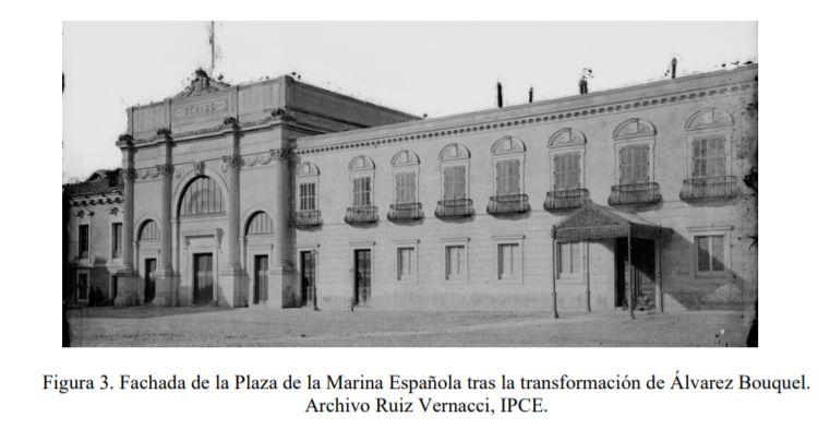 Palacio del Senado Madrid fachada reinado Isabel II
