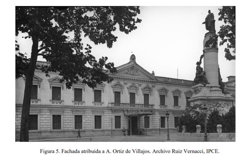 Palacio del Senado Madrid hasta 1939