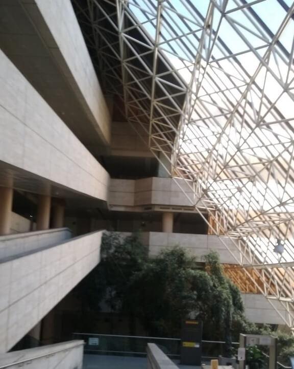 Semana de la Arquitectura 2019 en Madrid interior sede IMSERSO