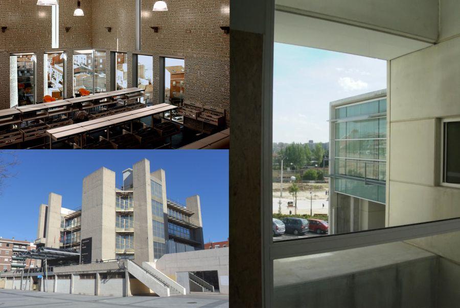 Brutalismo Madrid siglo XXI arquitectura Usera