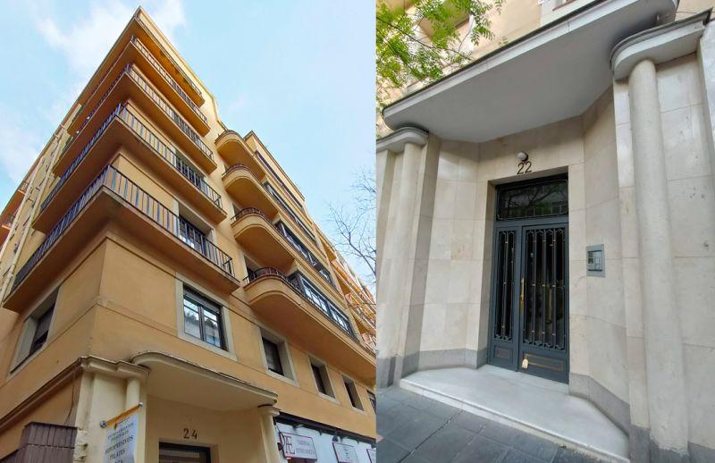 Calle Castelló, 24 y 22