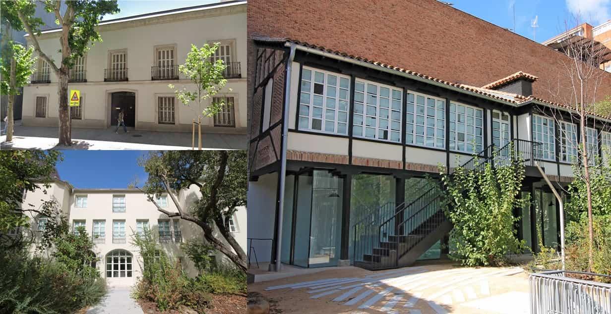 Fundación Francisco Giner de los Ríos Madrid edificios antiguos