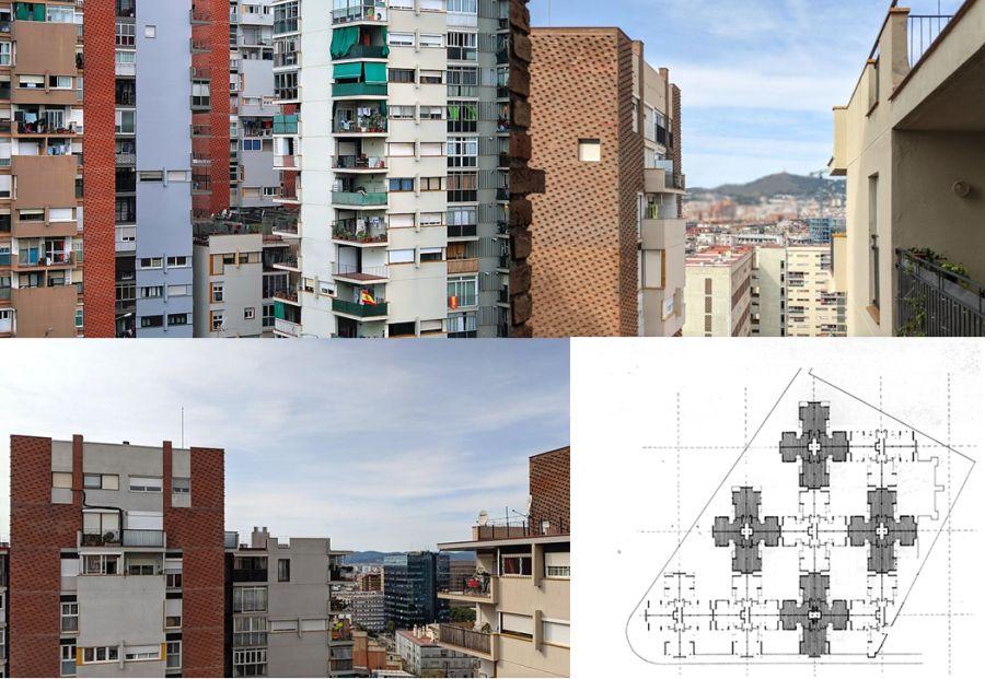 Brutalismo Conjunto Estrelles Altes de Barcelona