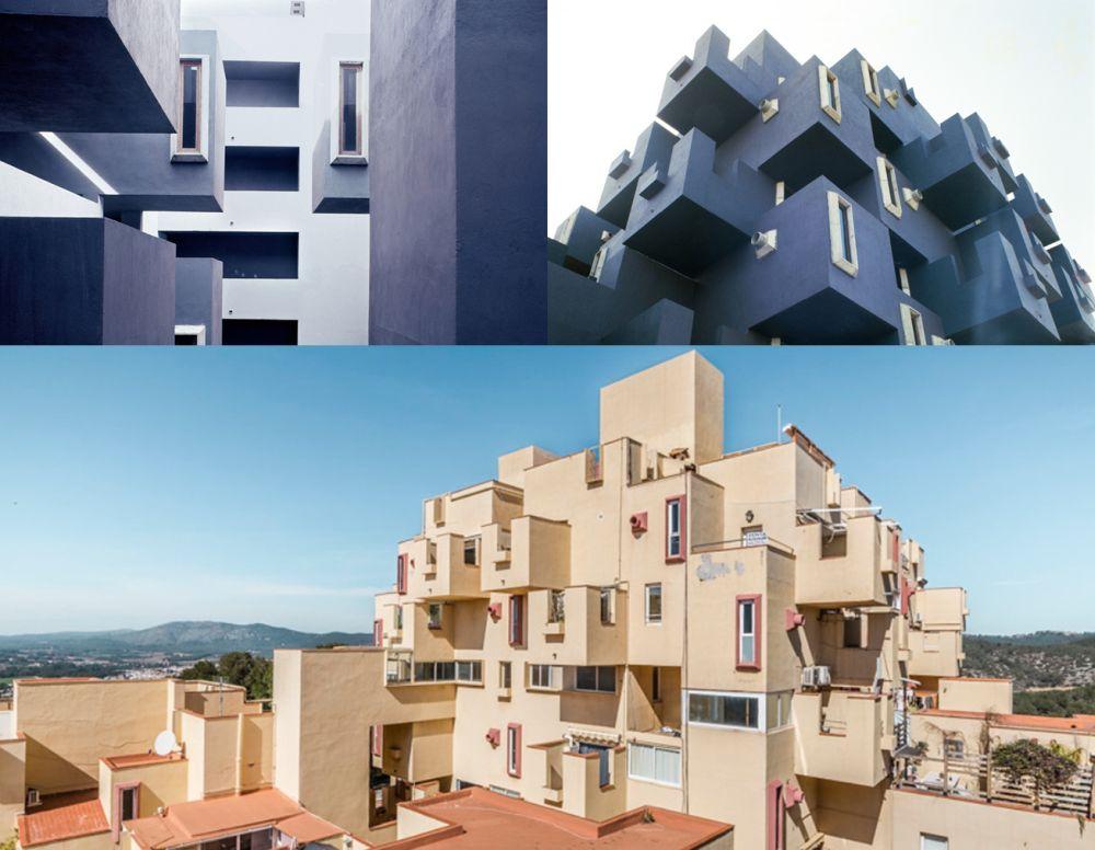 Castillo de Kafka Cataluña similar a edificios vídeo de Zorra de Bad Gyal