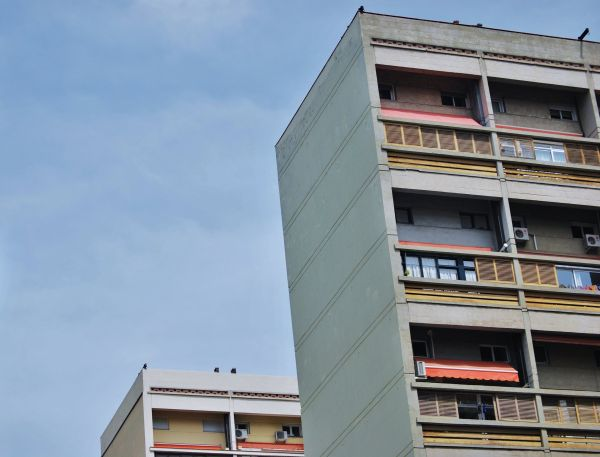 Racionalismo brutalista de Barcelona
