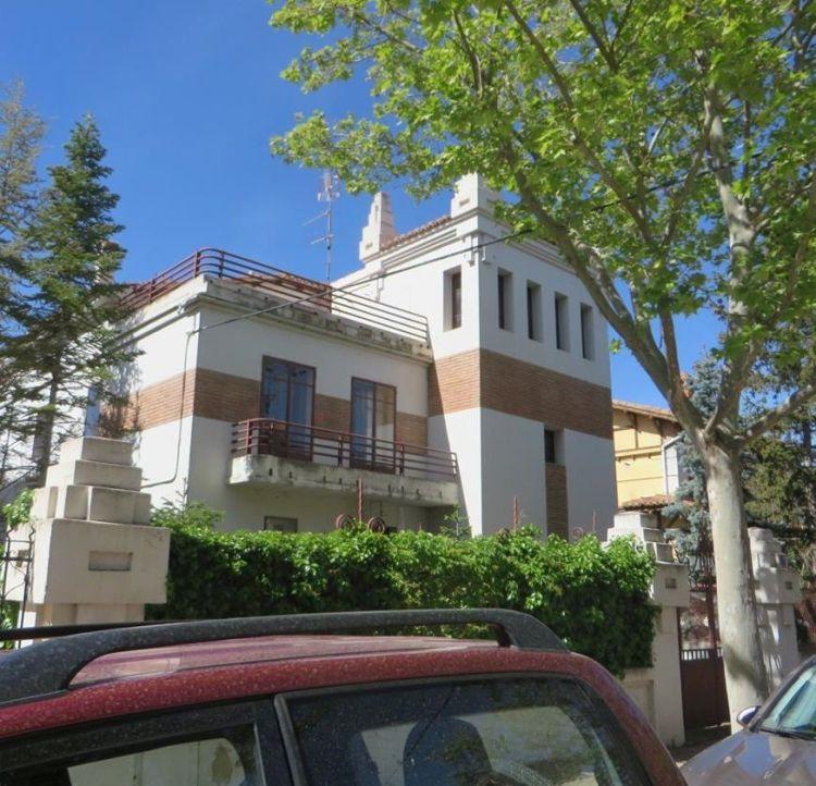 Ciudad Jardín de Teruel: ¿Racionalismo o Art Decó?