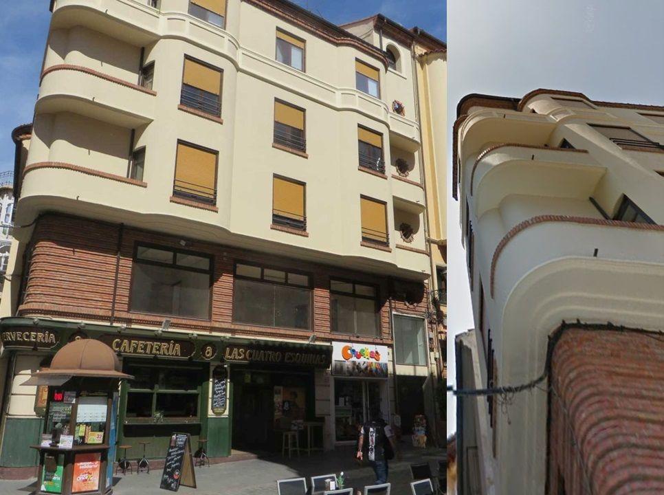Calle Ramón y Cajal 6 Teruel Art Decó