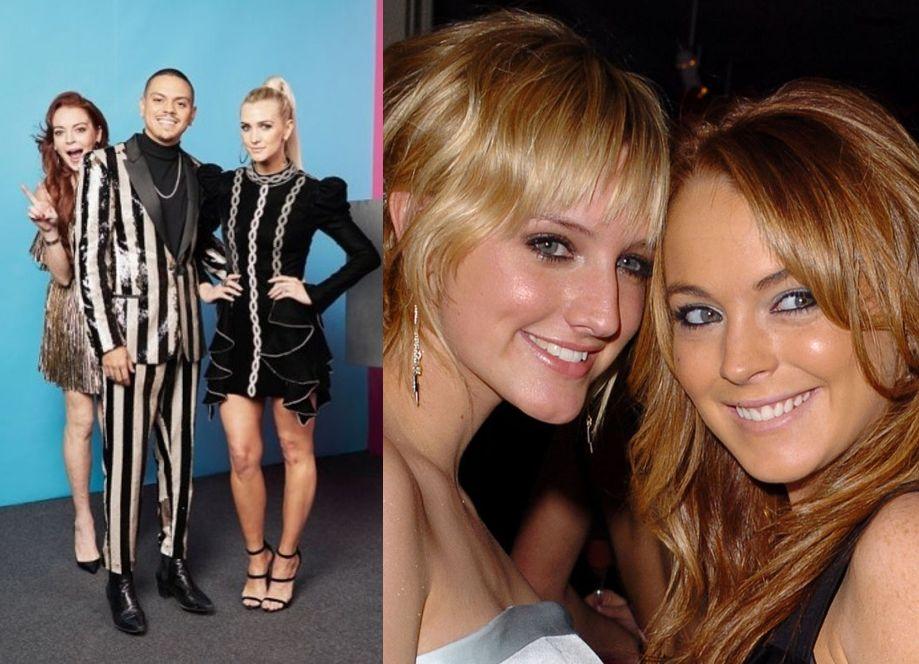 Lindsay Lohan y Ashlee Simpson reconciliación Bilbao