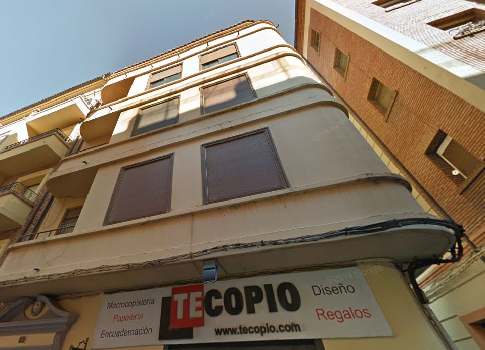 Plaza Goya 3 Teruel Racionalismo Decó