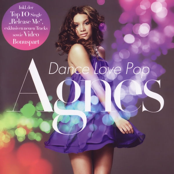 Portada de Dance Love Pop de Agnes, su disco internacional