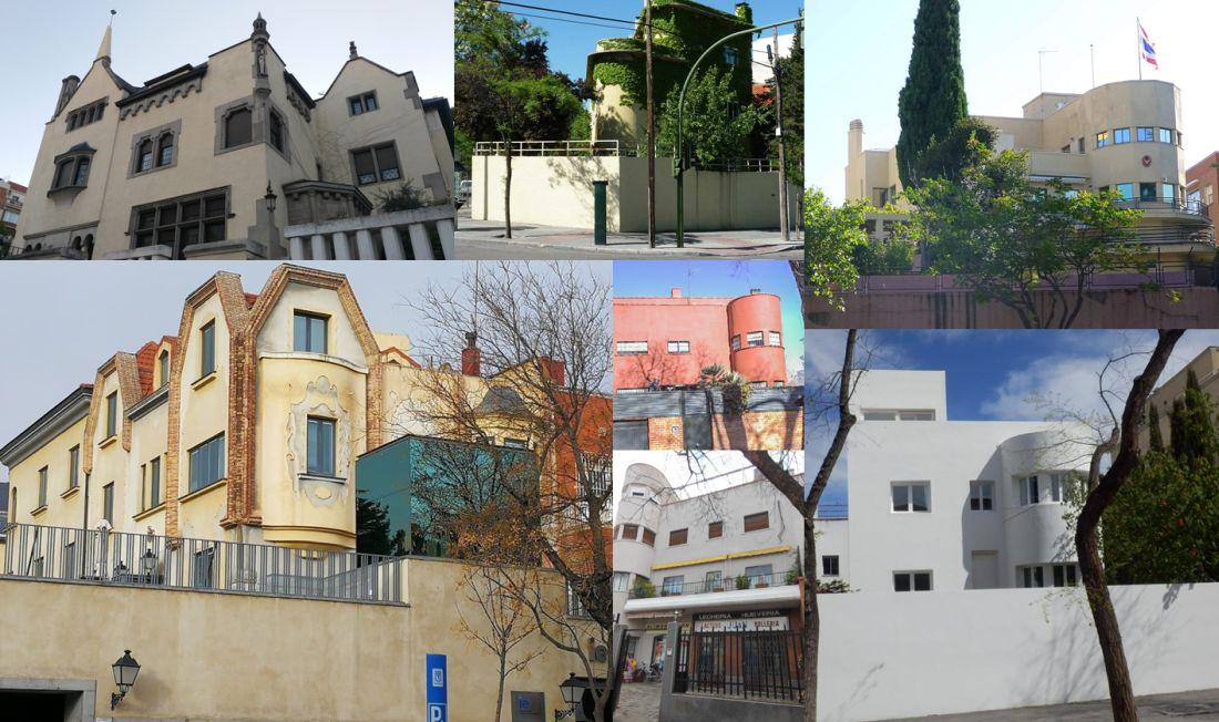 Madrid Art Decó y Racionalismo Bauhaus en Colonia El Viso y Parque Residencial