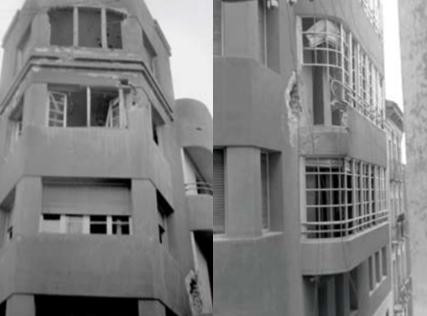 Arquitectura racionalista en Huesca, la Casa de las Lástimas y su Art Decó Streamline Moderne