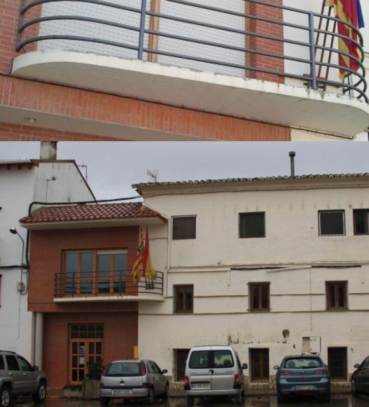 Ayuntamiento de Villanueva de Sijena, Neo Art Decó racionalista en Huesca