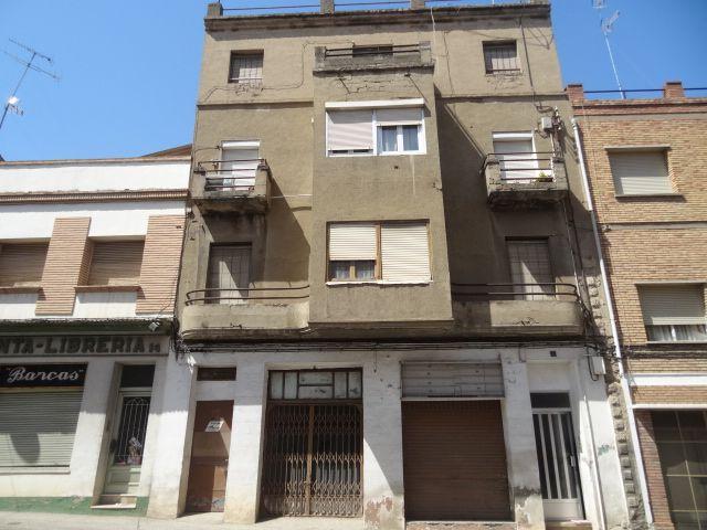 Calle 1 de mayo 12 Binéfar Huesca Art Decó