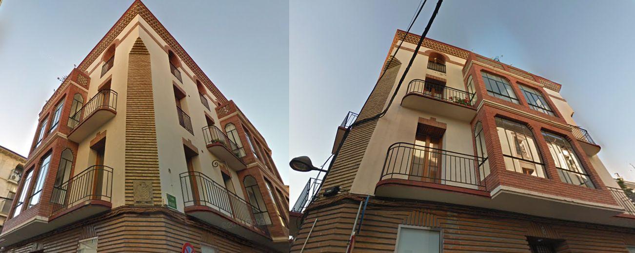 Calle Fatás 8 Huesca Art Decó 1932
