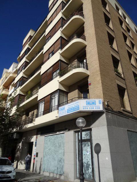 Calle del Parque 2 Huesca Art Decó de corte racionalista
