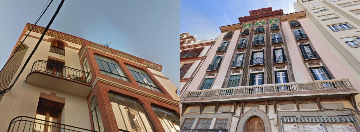 Regionalismo Decó, fusión de Modernismo, Regionalismo y Art Decó en Huesca y Málaga