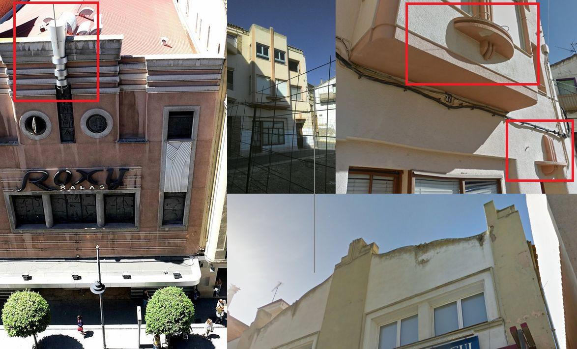 Zigzag Moderne y Streamline Moderne en la Huesca Art Decó e influencias