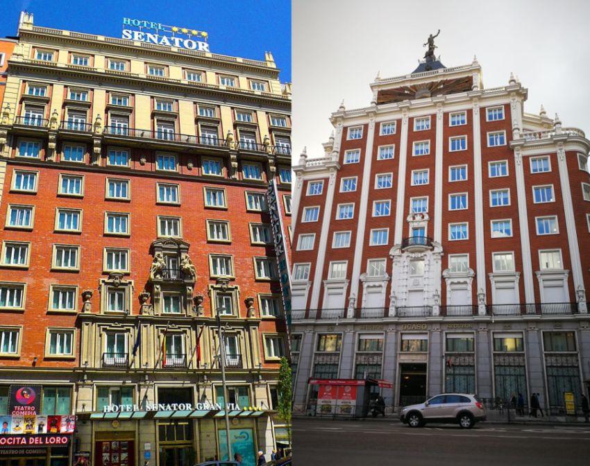 2 obras de Juan Pan da Torre con grandes portadas neobarrocas del franquismo