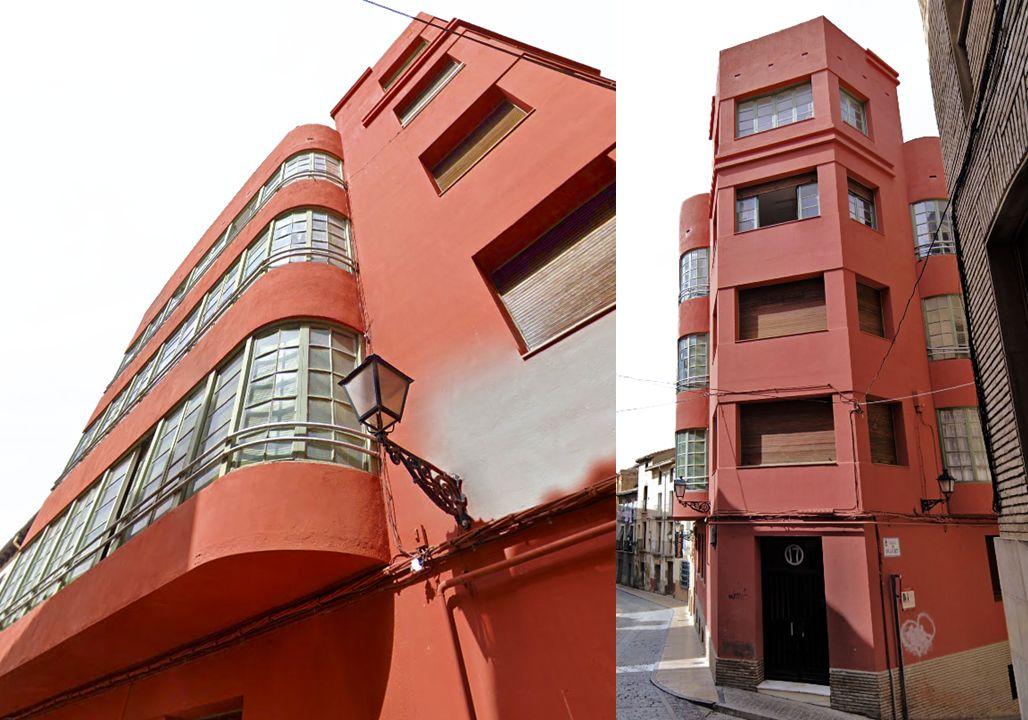 Huesca Art Decó racionalista Casa San Agustín
