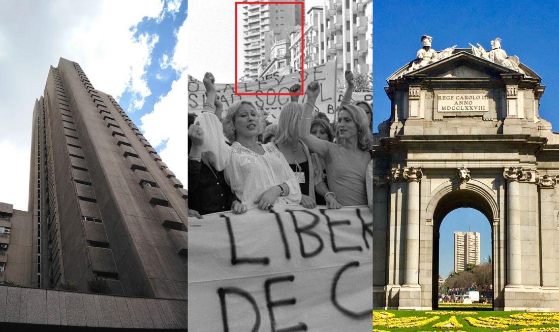 La Torre de Valencia en el primer Orgullo de Madrid