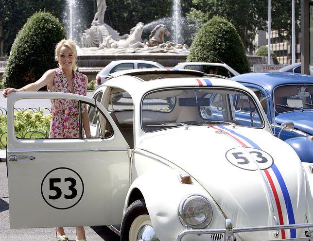 Lindsay Lohan en la presentación de Herbie en Madrid