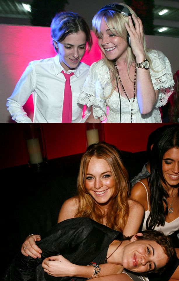 Lindsay Lohan y Samantha Ronson