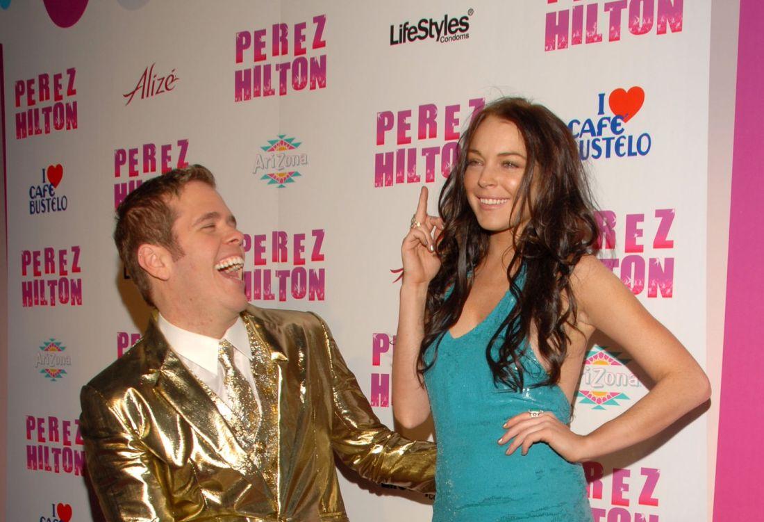 Mejores canciones de Lindsay Lohan, Refill en el cunmpleaños de Perez Hilton