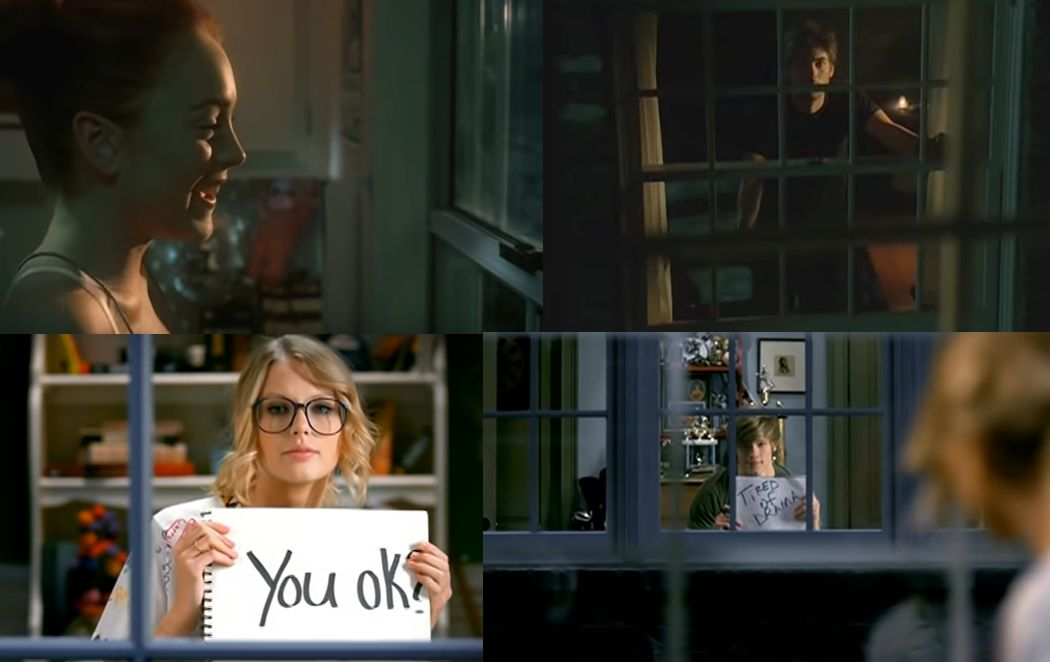 Over de Lindsay Lohan versus You Belong With Me de Taylor Swift