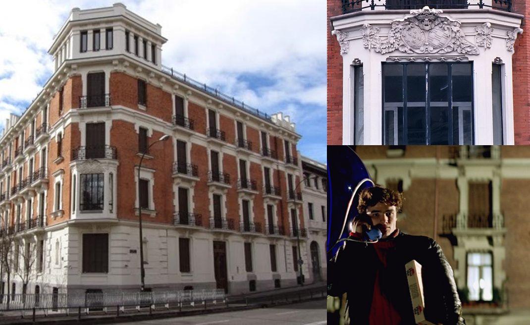 Palacio marqués de Oquedo en Como Tú de David Otero y Carne Trémula