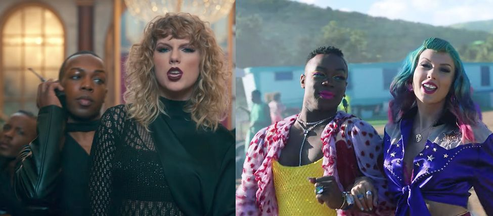 Todrick Hall con Taylor Swift desde Look What You Made Me Do