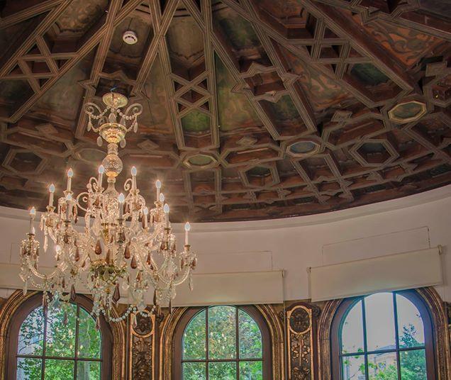 Artesonado mudéjar en el Palacio de Bermejillo
