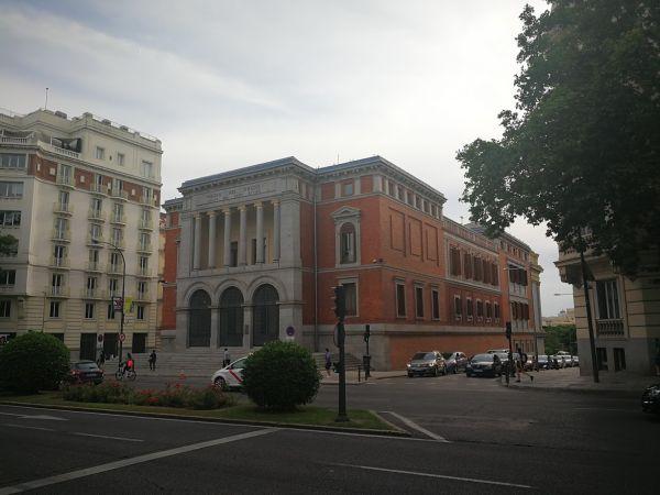 Casón del Buen Retiro fachada a Alfonso XII