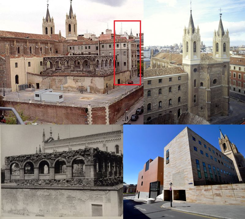 Claustro y casa cural de Los Jerónimos de Madrid