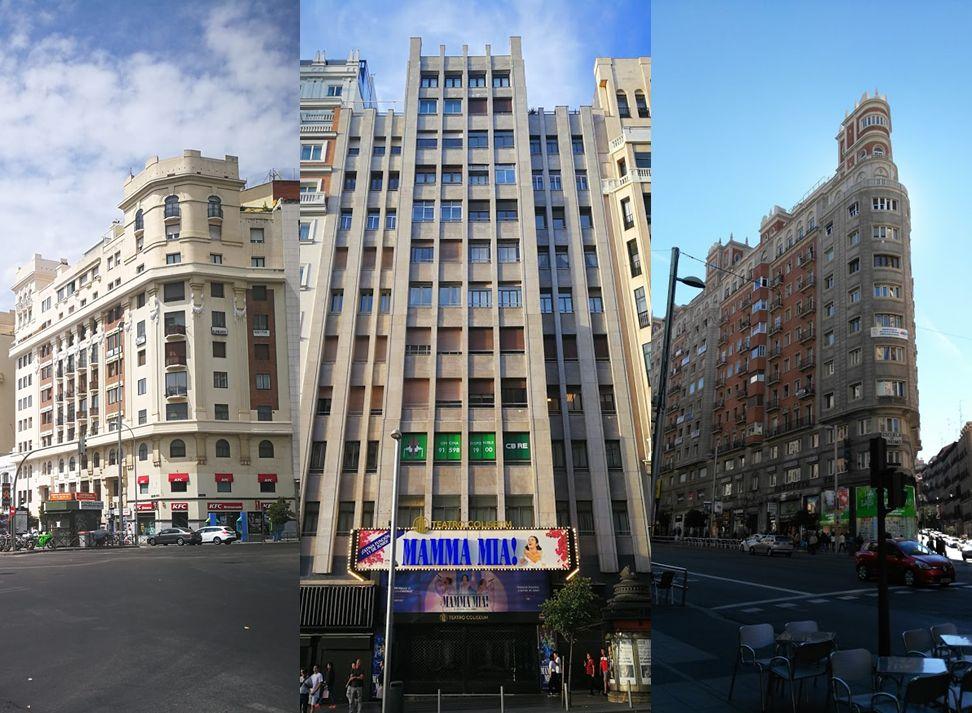Coincidencias entre avenida Reina Victoria y Gran Vía