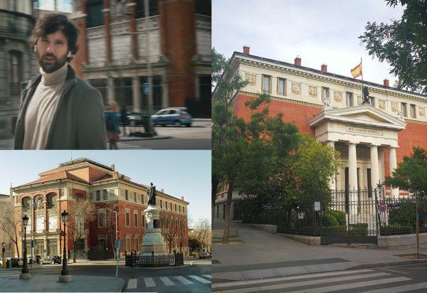 Edificio de la Real Academia de la Lengua en Madrid