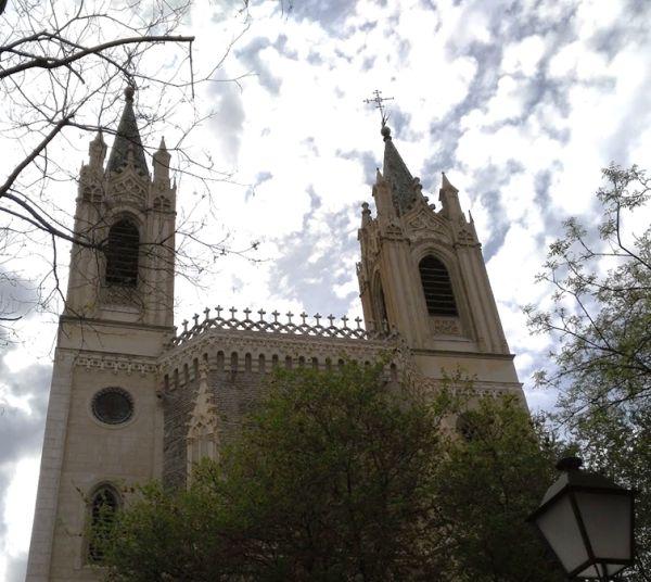Iglesia de Los Jerónimos en Madrid